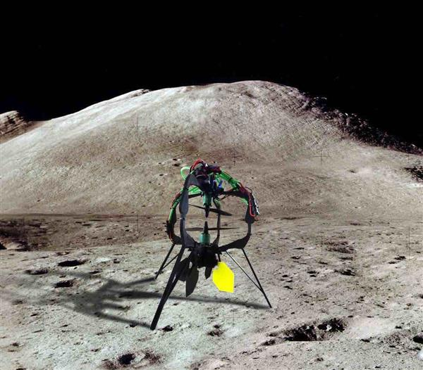 Build your own X01 Project 3D printed drone, inspired by prize-winning Xombie Lunar Lander (3ders.org)