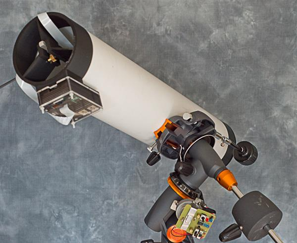 3D printed PiKon astro-cam telescope captures incredible picture of the moon, now on Indiegogo (3ders.org)