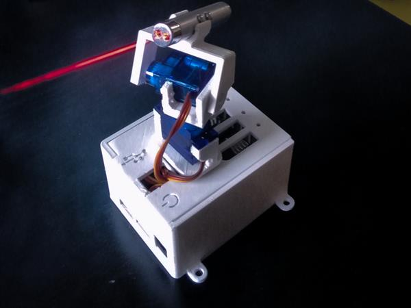 Drive cats (or anyone) crazy with 3D printed remote-controlled laser pointer (3ders.org)