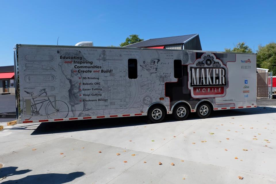 MakerMobile Lets Kentucky and Indiana Residents 3D Print and More (3dprint.com)