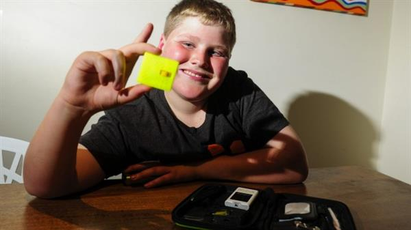 11-year-old 3D printed diabetes test-strip device wins him a trip to NASA (3ders.org)