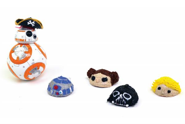 Use 3Doodler to create new heads for Star Wars: The Force Awakens BB-8 Droid toy (3ders.org)