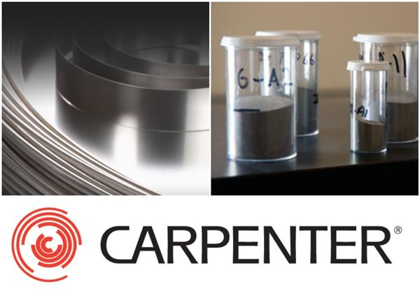 Carpenter acquires metal 3D printing powder producer CalRAM (3ders.org)