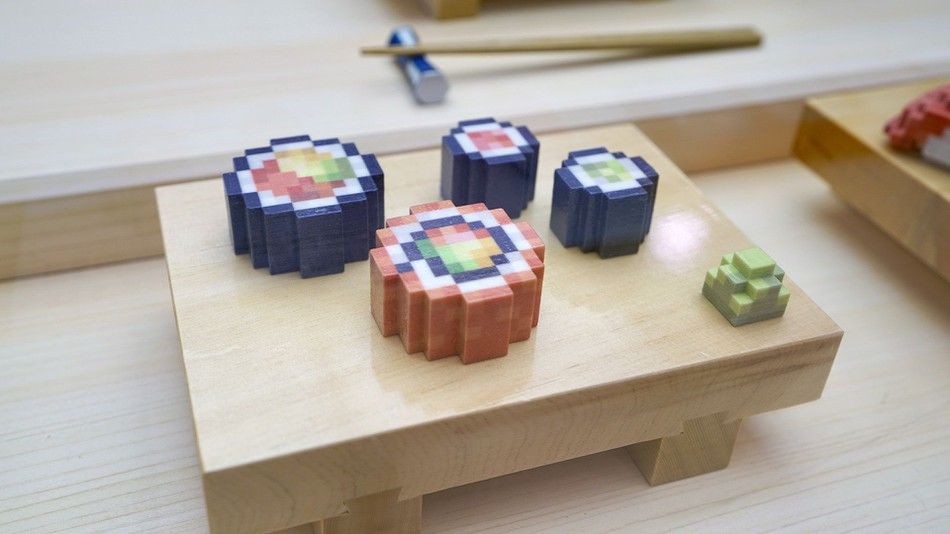 8-bit sushi has arrived and #foodporn pics may never be the same again (mashable.com)