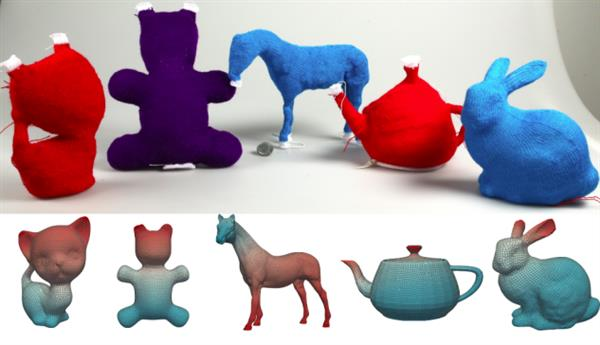 New software lets you transform 3D models into stuffed knitted toys (3ders.org)